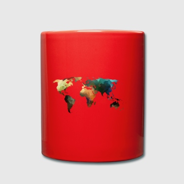 map of the world - Full Colour Mug