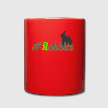 #Rabbits - Taza de un color
