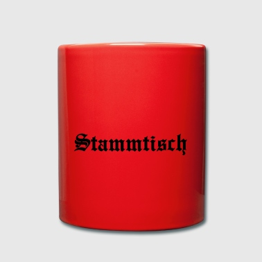 Stammtisch in old english font - Full Colour Mug