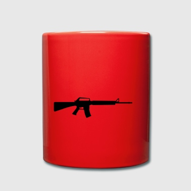 Machine Gun - Tasse en couleur