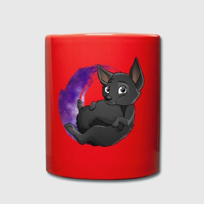 Kelpie Galaxy Black - Full Colour Mug