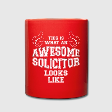 This is what an Awesome Solicitor Looks Like Gifts - Full Colour Mug