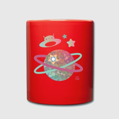 magical planet - Full Colour Mug