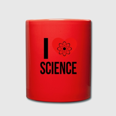 I LOVE SCIENCE * IDEAL GIFT * - Full Colour Mug