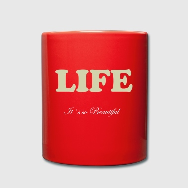 Life Collection - Tasse einfarbig