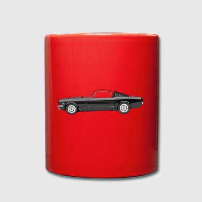 Muscle car - Full Colour Mug
