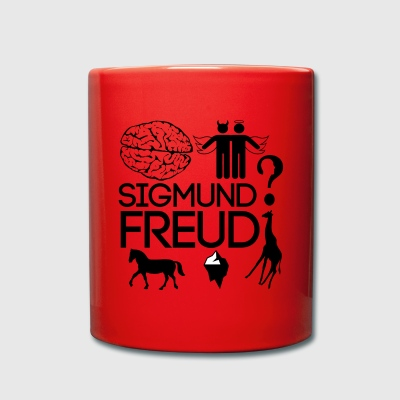 Sigmund Freud - Taza de un color