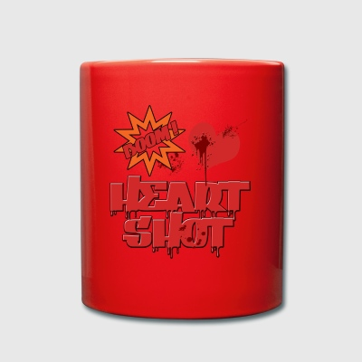 HEART SHOT - Full Colour Mug