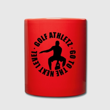 GOLF ATHLETZ - Kettlebell Training Sport Shirt - Full Colour Mug