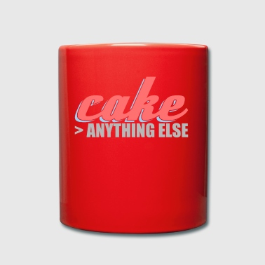 better than anything else cake cake - Full Colour Mug