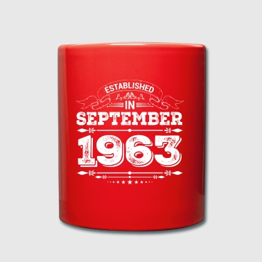 Established in September 1963 - Tasse einfarbig