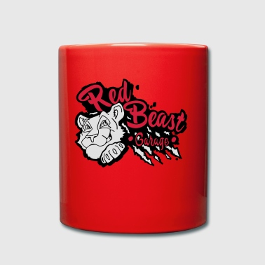 Red Beast Garage - Tazza monocolore