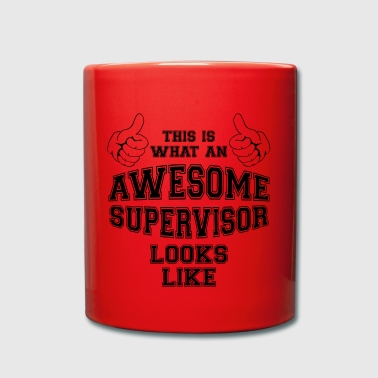 This is what an awesome supervisor looks like Gift - Full Colour Mug