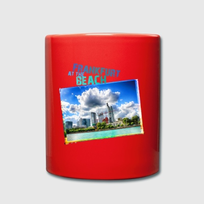 Frankfurt at the Beach - Full Colour Mug