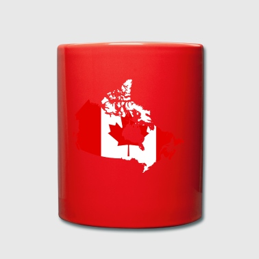 Map of Canada - Full Colour Mug
