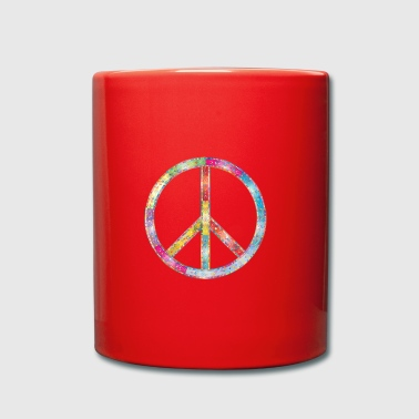Peace Hippie - Full Colour Mug