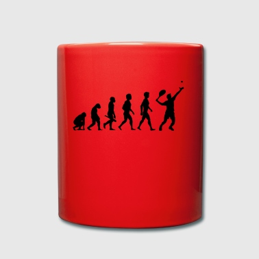Tennis Player Tennis Player Evolution - Full Colour Mug