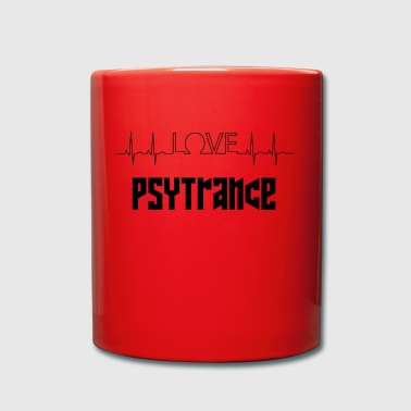 love psytrance - Full Colour Mug