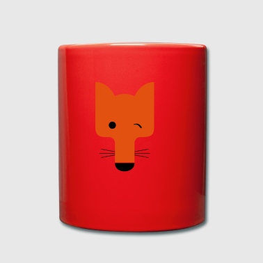 Fox blinking - Full Colour Mug