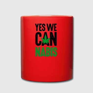 Yes we cannabis erbaccia canapa marijuana Legalize It! - Tazza monocolore