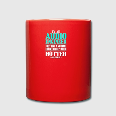 AUDIO ENGINEER - Full Colour Mug
