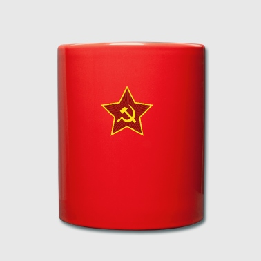 Bandiera comunista Star Hammer and Sickle - Tazza monocolore