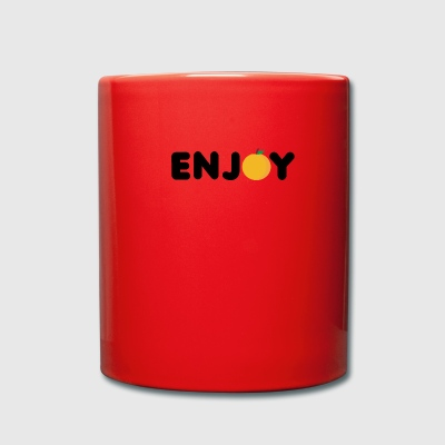 Fruit / Fruit: Enjoy Orange - Full Colour Mug