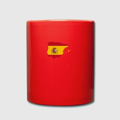 Spanish Flag - Full Colour Mug