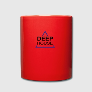 Deep House design 001 - Tasse en couleur