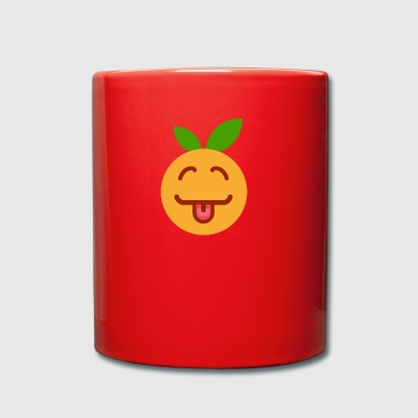 orange - Full Colour Mug