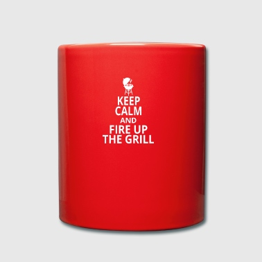 Fire up the grill - Full Colour Mug