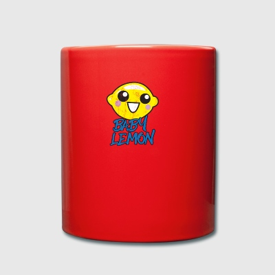 Fruit / Fruit: Baby Lemon - sweet lemon - Full Colour Mug