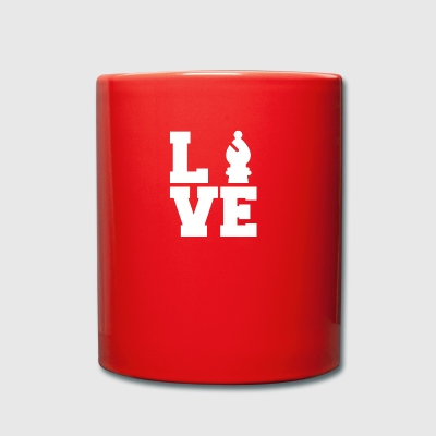 Chess / Chessboard: Love Chess - Full Colour Mug
