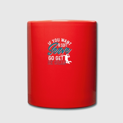 Volleyball player volley ballooning gift - Full Colour Mug