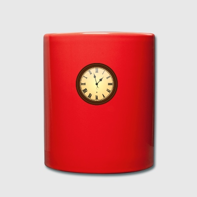 wall clock - Full Colour Mug