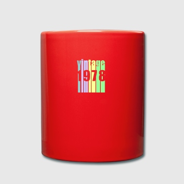 Vintage 1978 - Taza de un color