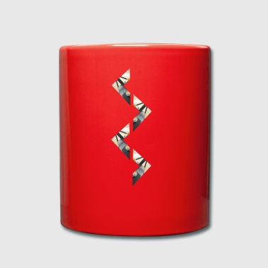 zigzag - Full Colour Mug