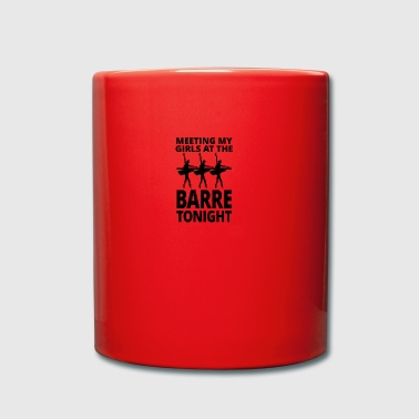 Ballett barre tonight - Tasse einfarbig