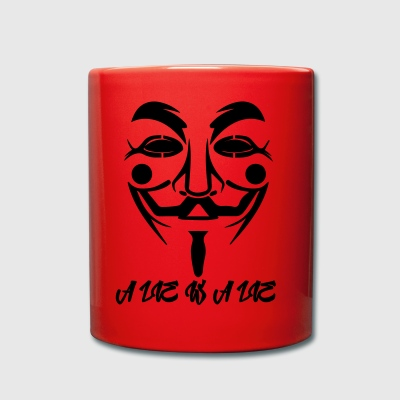 Guy Fawkes A Lie - Tazza monocolore