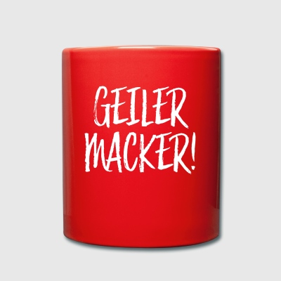 Geiler Macker - Full Colour Mug