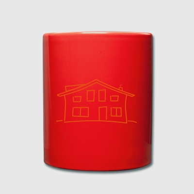 Logo Community house white - Full Colour Mug