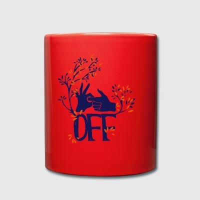 Fuck off shirt, get away! - Full Colour Mug