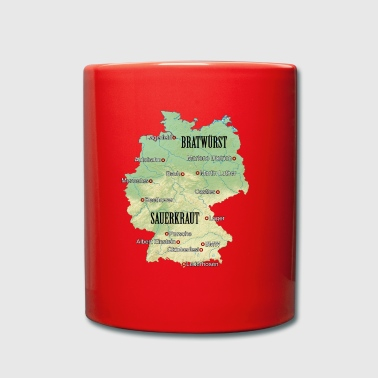 Germany Atlas - Full Colour Mug
