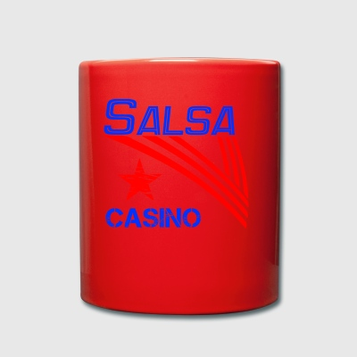 Salsa Casino blue - Pro Dance Edition - Full Colour Mug