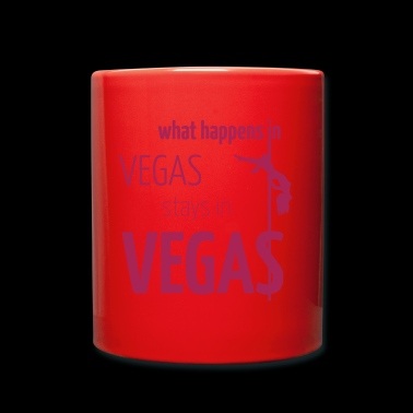 What Happens in Vegas ... - Kubek jednokolorowy