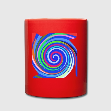 Spirals - Full Colour Mug