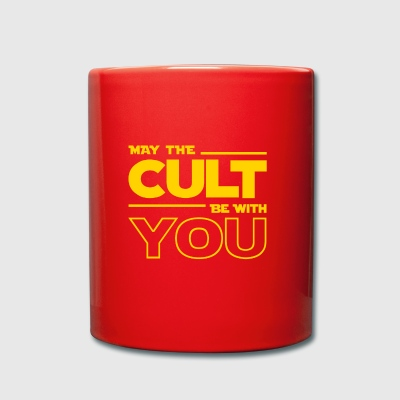 MAY THE CULT BE WITH YOU - Taza de un color
