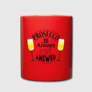 prosecco answer - Full Colour Mug