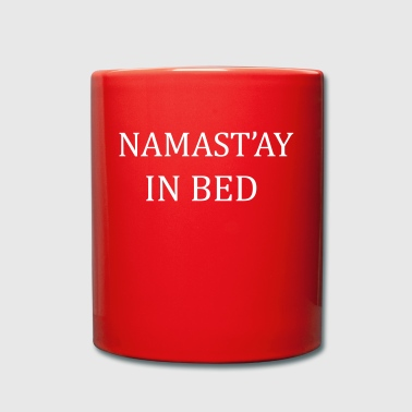 Namast'ay In Bed - Full Colour Mug