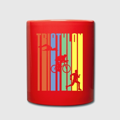 TRIATHLON - Stripes - Tasse einfarbig